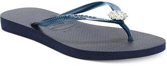 Havaianas Slim Crystal Flip Flops
