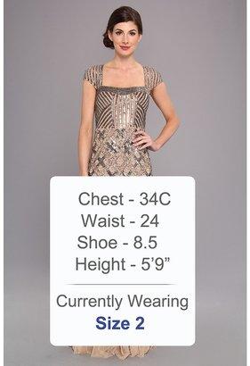 Adrianna Papell Cap Sleeve Bead Dress Women's Dress