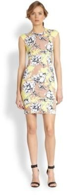 Torn By Ronny Kobo Morgan Floral-Print Body-Con Dress