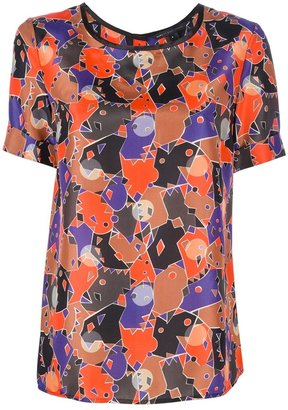 Marc by Marc Jacobs 'Nata' camouflage top