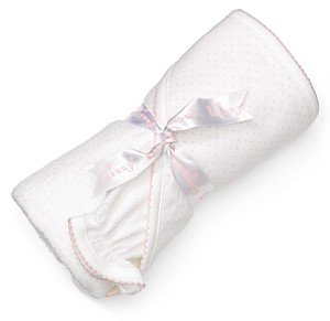 Kissy Kissy Infant Girls' Towel & Mitt Set - Baby