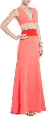 Red Carpet Lizette Sleeveless V-Neck Dress