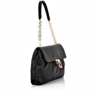 Salvatore Ferragamo W Chain Flap Bag*
