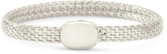 MONET JEWELRY Monet Silver-Tone Magnetic Closure Bracelet $20 thestylecure.com