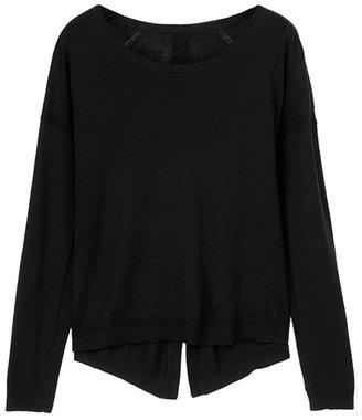Rag and Bone RAG & BONE Natalie Split Back Pullover Sweater