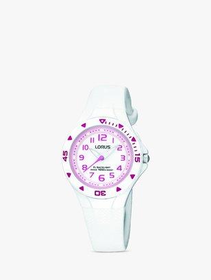 Lorus Children's Rubber Strap Watch