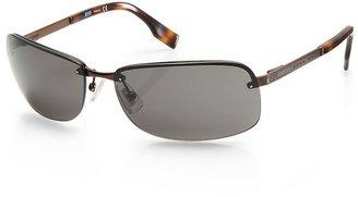 HUGO BOSS 'Sunglass' | Brown Metal Frame Sunglasses by BOSS