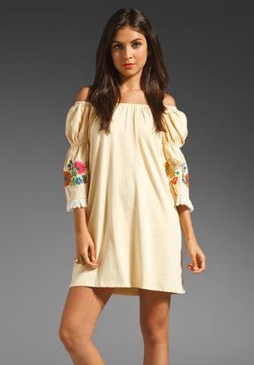 VAVA by Joy Han Brynn Off the Shoulder Dress