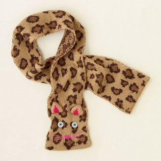 Children's Place Kitty cat knit scarf