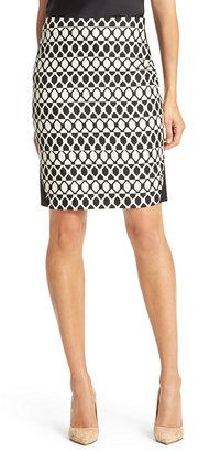 Diane von Furstenberg Emma Diamond Collage Pencil Skirt