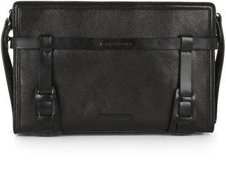 BCBGMAXAZRIA Ace Harness-Detail Shoulder Bag