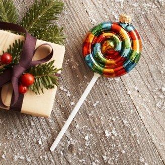 Sur La Table Spiral Lollipop Ornament