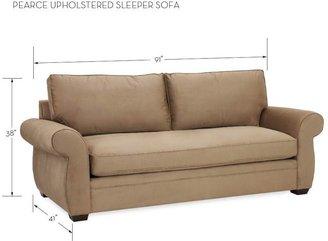 Pottery Barn Pearce Upholstered Sleeper Sofa - Performance everydaysuede &