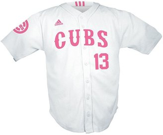 adidas Girls 7-16 Chicago Cubs Starlin Castro Jersey