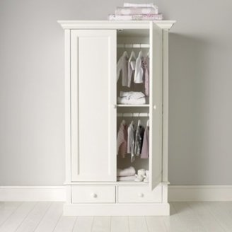 The White Company Classic Small Wardrobe, White, One Size