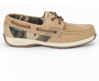 Eastland solstice camo boat shoes - women