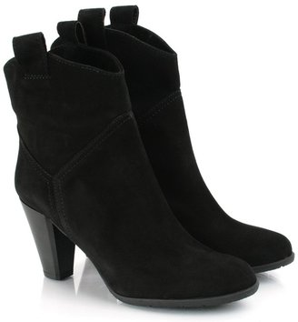 Daniel Black Suede MEMESY Womens Ankle Boot