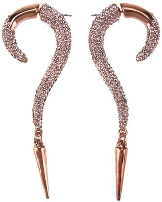 Luxury Fashion curved earring