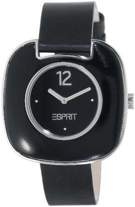 ESPRIT Women's ES103762001 Espace Black Classic Fashion Analog Wrist Watch $100 thestylecure.com