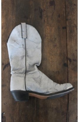 treasure blue Vintage Leather Boot