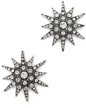 Elizabeth Cole Starburst Earrings 1