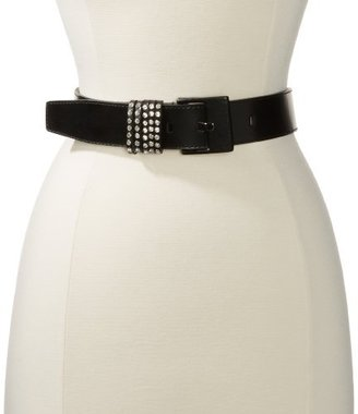 Calvin Klein Women's Panel Belt With Stud Multiloop