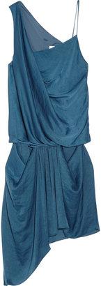 Helmut Lang Helios asymmetric satin dress