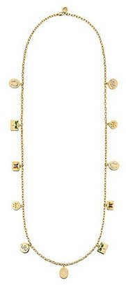 Tory Burch Sylbie Charm Necklace