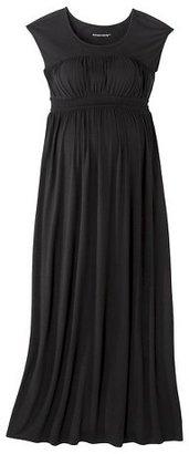 Liz Lange for Target Maternity Sleeveless Smocked Maxi Dress Black for Target®