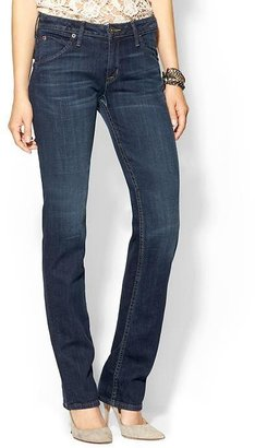 Hudson Jeans Carly Mid Rise Straight Leg