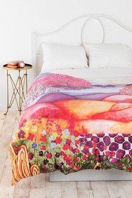 Urban Outfitters Plum & Bow Painted Hills Duvet Cover