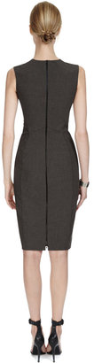 Narciso Rodriguez Two-Tone Stretch Jersey Dress
