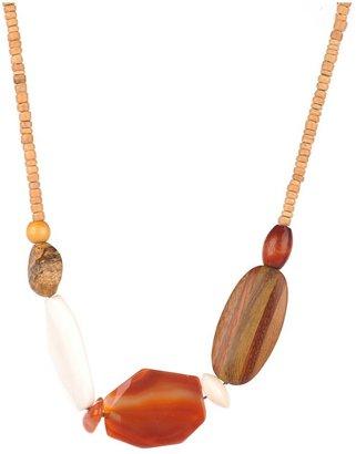 A.V. Max Short Multi Semi Necklace