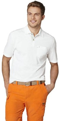 G.H. Bass solid textured polo - men