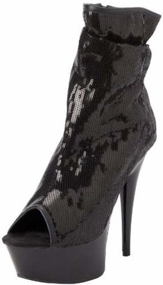 The Highest Heel Women's Amber-411 Bootie
