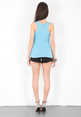 Rag and Bone Classic Beater Tank in Light Blue