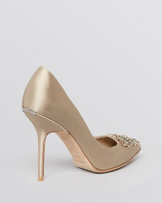 Burberry Pointed Toe Evening Pumps - Ormelie High Heel