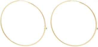 Jennifer Meyer Women's Turquoise & Gold Hoops