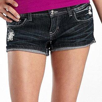 Soundgirl Embellished Denim Shorts