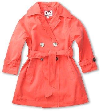 Appaman Kids - Trench Coat (Toddler/Little Kids/Big Kids) (Coral) - Apparel