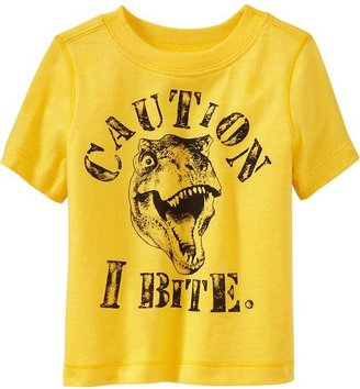 """Old Navy """"Caution, I Bite"""" Tees for Baby"""
