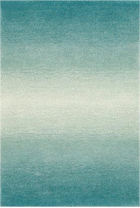 Liora Manné Area Rug, Ombre 9663/04 Horizon Aqua 8' x 10'
