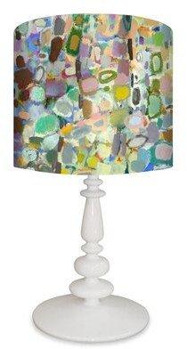 "GreenBox Art Abstract Forest 26"" Table Lamp GreenBox Art"