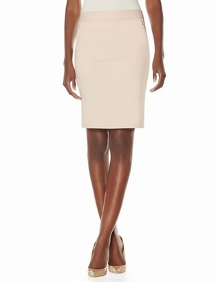 The Limited Exact Stretch Zip Pocket Pencil Skirt