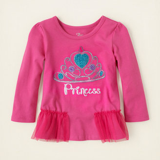 Children's Place Embellished peplum top