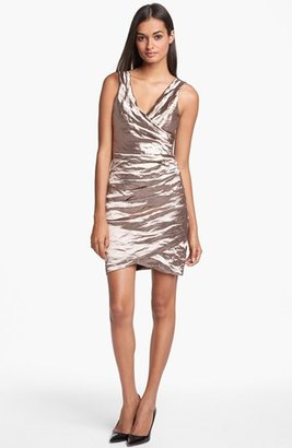 Nicole Miller Techno Metal Dress