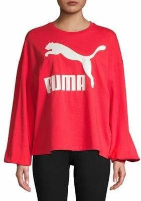 Puma Classics Logo Long Sleeve Top