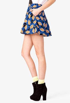 Forever 21 Dutch Wax Skirt
