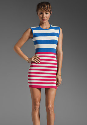 Camilla And Marc Exemption Stripe Knit Dress