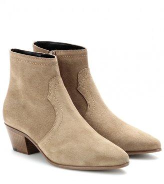 Saint Laurent Rock suede ankle boots